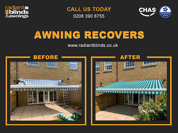 Blinds and Awnings for shops and homes in Camberley